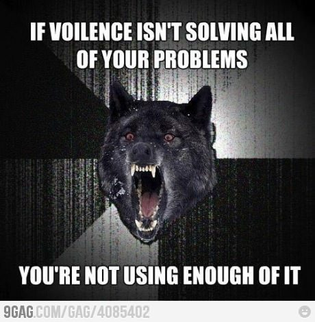 Insanity Wolf strikes again! from 9GAG by 9GAG Reader (9g.re)