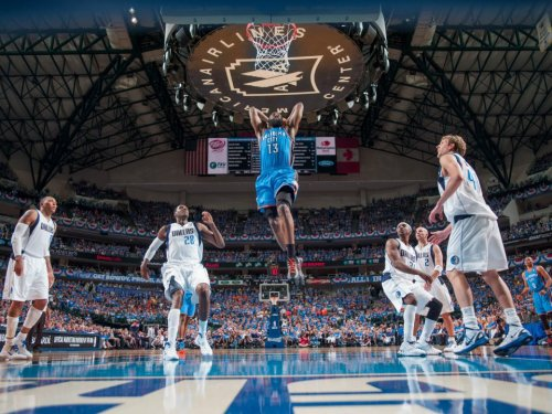 James Harden, Oklahoma City Thunder (2012 Western Conference Quarter-Finals, Game 4) (via Bob Dylan Jr.)