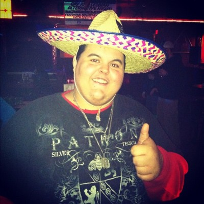 Dude loves #cincodemayo 👍 #barlife #tequila #regulars (Taken with Instagram at No. 9 Ale House)