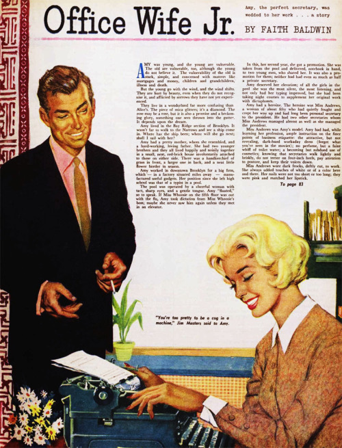 Office Wife Jr, 1960