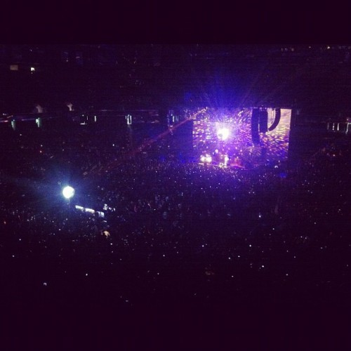 Black Keys had a disco ball!! (Taken with instagram)