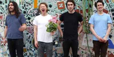 "A BAND A DAY WITH NXNE: HOLLERADO LOWDOWN:• Band members: Dean Baxter (bass, vocals); Jake Boyd (drums, vocals); Nixon Boyd (guitars, vocals); Menno Versteeg (guitar, lead vocals)• Biggest hit: ""Juliette,"" heard in commercials and stadiums all over the country• Must-listen, little-known hit: ""Canadianarama""• Most notable achievement/fact: Hollerado are DIY superheroes and have perfected the art of fun shows since their homemade Demo in a Bag albums. Read their rise to glory on their website, handwritten by lead singer Menno. (How's THAT for analog?) Hollerado play NXNE 2012 alongside their heroes the Flaming Lips. Check out nxne.com/2012/hollerado for more."