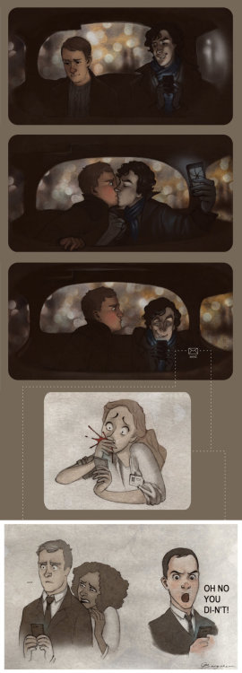 sherlockbbcfanart:  Experiments are Fun by *Sash-kash