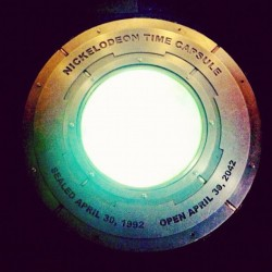 Finally 😍Nickelodeon Time Capsule! (Taken with instagram)