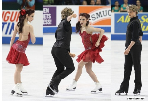 Meryl Davis and Charlie White's tango costumes at the 2011 US National Championships. Photos by Adam and Devon Stein. Source: http://gallery.ice-skate.net/photos/2011-nationals/senior/dance/free/meryl-davis-charlie-white/