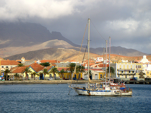 Mindelo evening (by dan.sky) Mindelo, Cape Verde