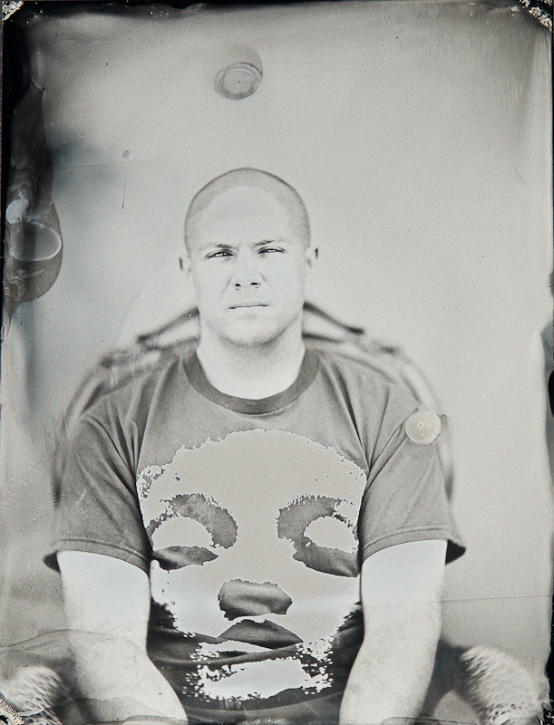 A tintype of me wearing my Jane Doe shirt