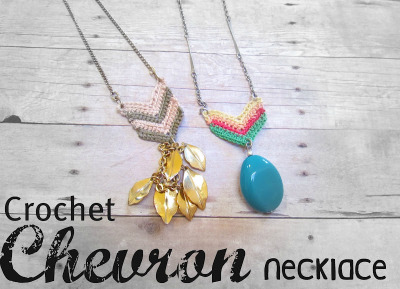 cajunmama:  (via twobutterflies: Crochet Chevron Necklace Pattern)