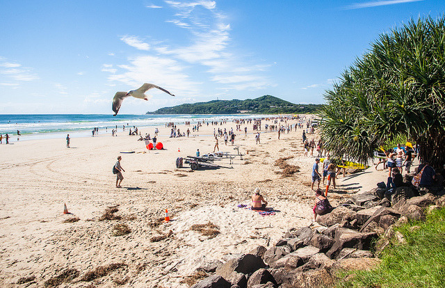 Byron Bay on Flickr.Via Flickr: Byron Bay looking towards the lighthouse and the most easterly part of Australia.