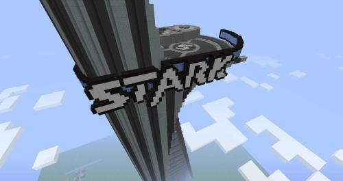 stark tower in Minecraft  画