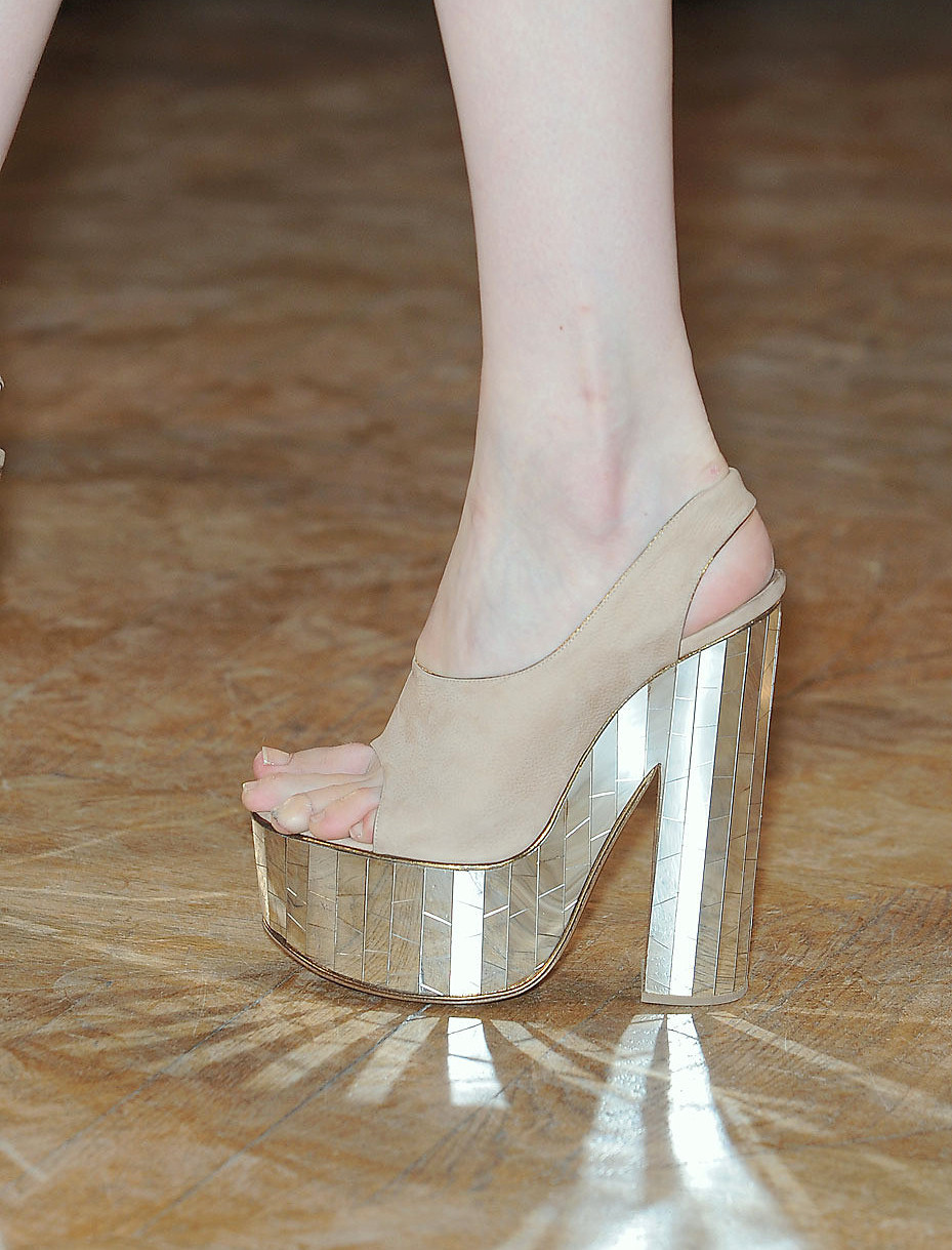 shoes @ Rochas Spring 2012.