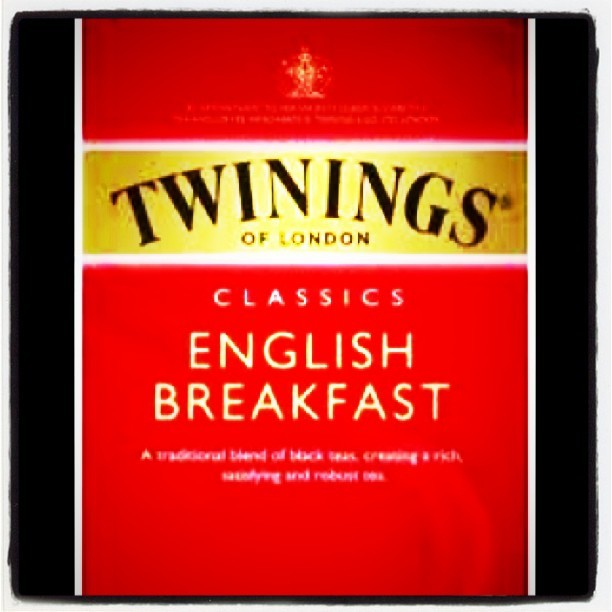 Having my first ever cup of tea and loving it! #twinings #tea #night #love (Taken with instagram)