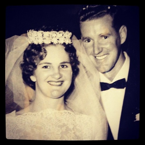 her-life-in-moments:  #happy 50th #wedding anniversary to my absolutely amazing grandparents!!! (Taken with instagram)