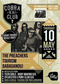 Coming up this week! The preachers and tourism!