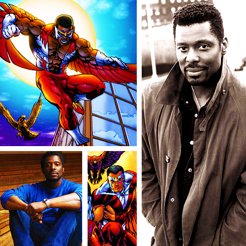 jeuxdeau:  Marvel Fancast: Eamonn Walker as Sam Wilson / Falcon