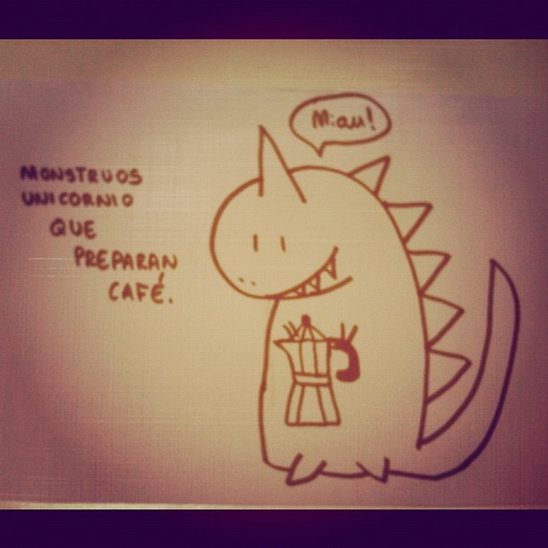 Monstruos Unicornio (Taken with instagram)