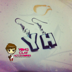 """Yong Clay Accessories"" YH Earrings :) 70php Just click the photo if you're interested. Jinja gomawo! :) <3"