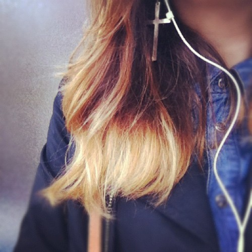 Ombre hair finally ❤