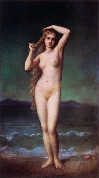 23silence:  Eugene-Emmanuel Amaury-Duval (1808-1885) - The Bather