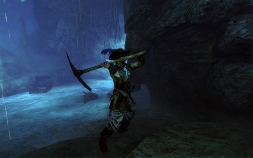 thedustinreed:  Risen 2 mining in the Grotto ;)