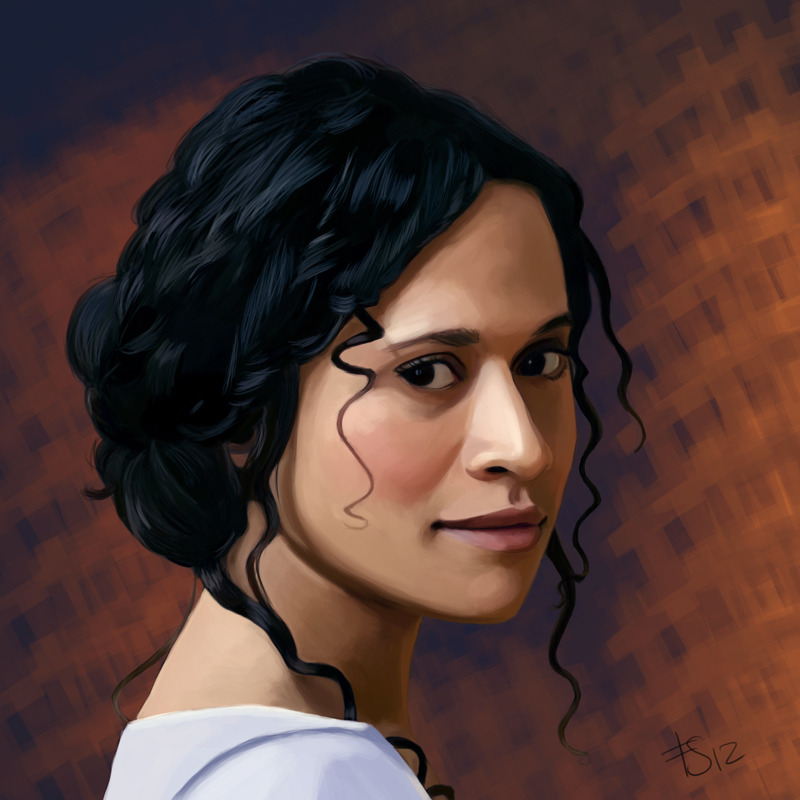 Angel Coulby as Guinevere (BBC's Merlin).I finished it. You can buy this as a print here.