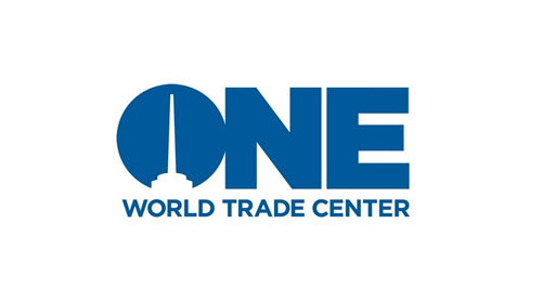 2013年完成。One World Trade Center (via One World Trade Center | Logo Design Love)