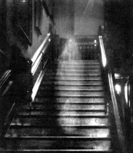 Ghost picture - The Brown Lady.