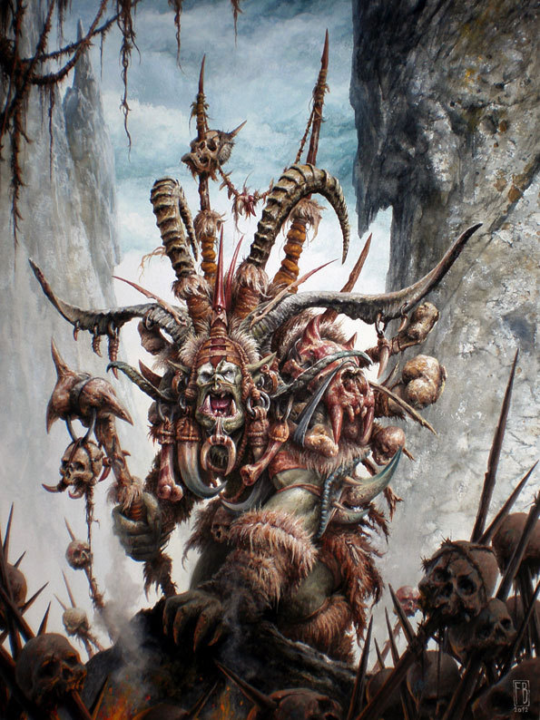 monsteroll:  (via Orc Shaman by Filip - Filip Burburan - CGHUB)