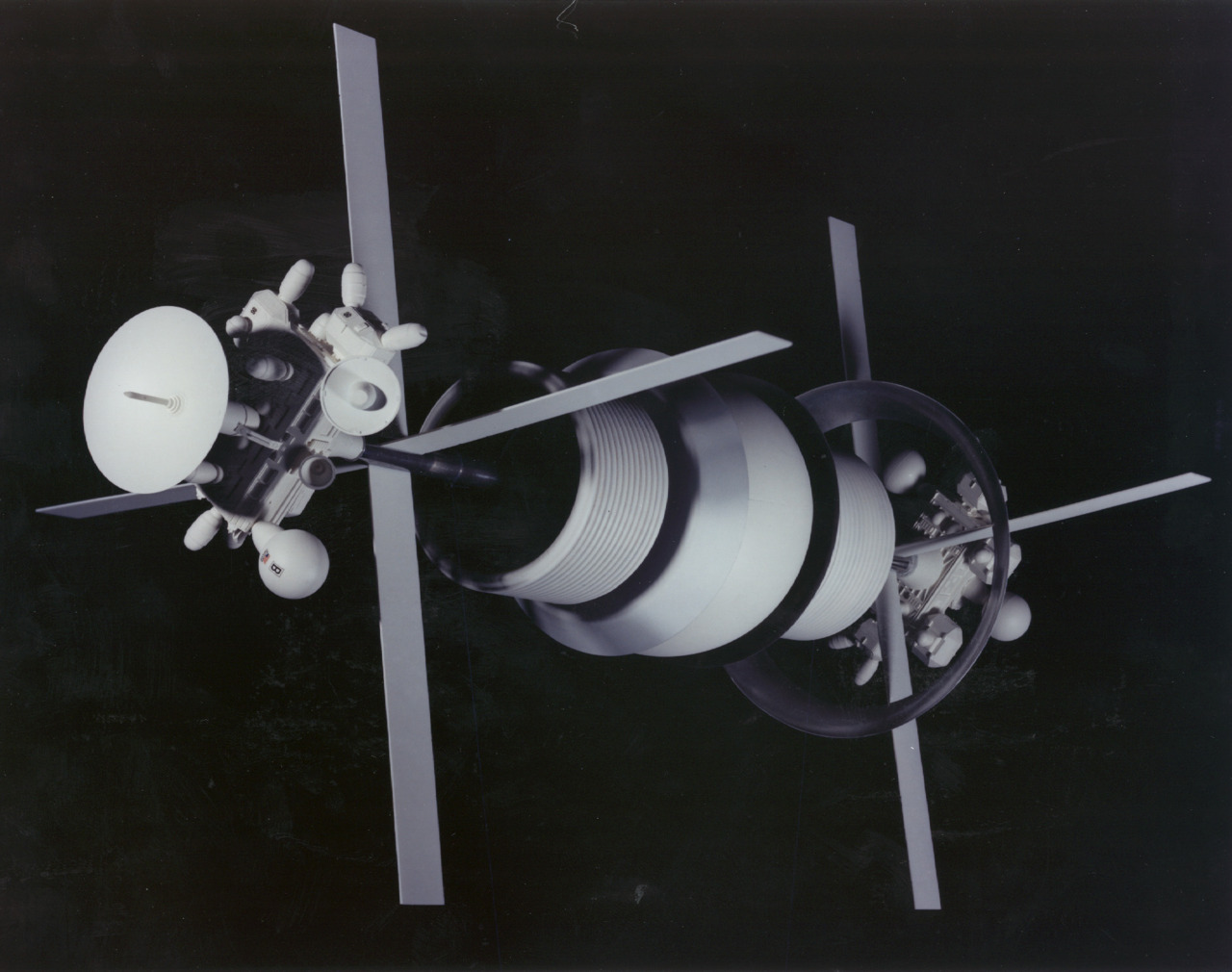 Photograph of a model of the Bernal Sphere