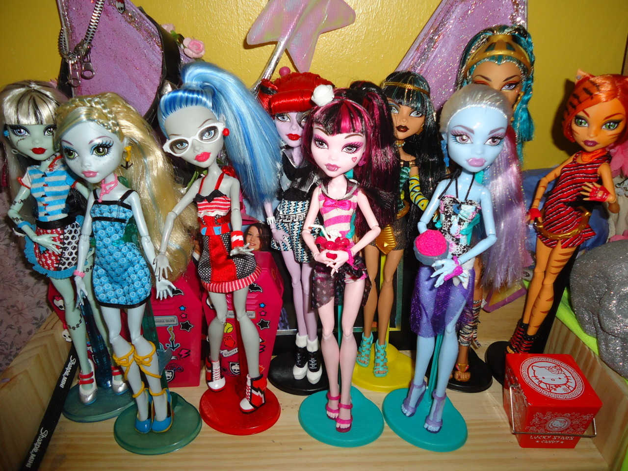 favouriteobsession:  My collection <3 I really need to get some boys!
