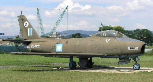 CAC Avon Sabre that served with the Royal Malaysian Air Force