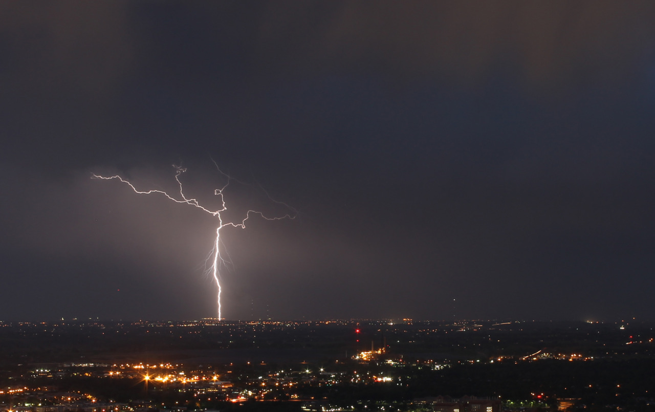 Lightning over Boulder, Colorado, May 2012, after the Super Moon was swallowed by clouds. More Super Moon & Lightning over Boulder shots here.  Source: gin+gelato