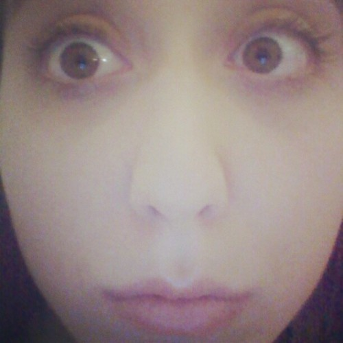 Awkward Close-up! (Taken with instagram)