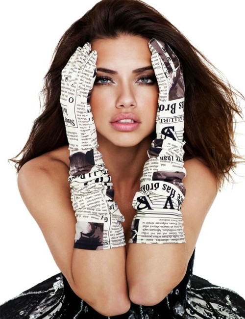 Adriana Lima by Gavin Bond