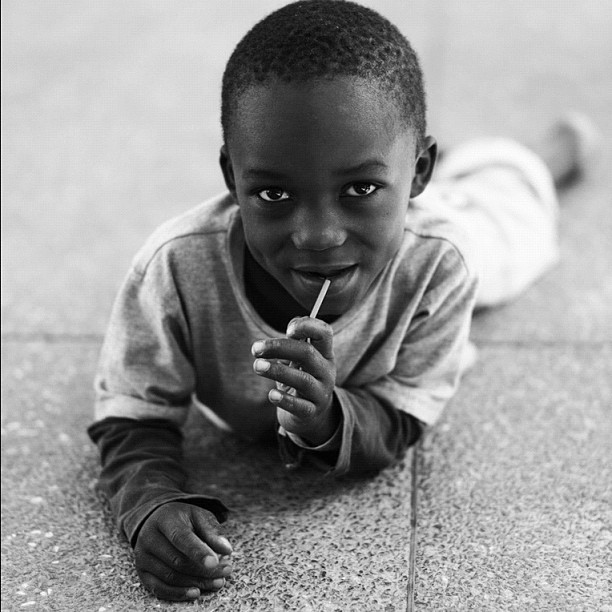 Candy Boy (Leica M9 w/IG Inkwell) #portraits #kenya #ismsoperationkids #medicalmission #orthocase (Taken with Instagram at Kakamega, Kenya)