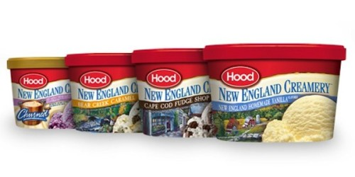 """In the H0od"" jokes aside, New England's leading dairy brand Hood, HQed in Lynnfield,      is introducing new ice cream flavors and products to get Bostonians and New Englanders in general even more pumped full o' excitement and calcium.   New flavors include additions to their Hood Classic line, Peanut Butter Cup and Butter Pecan flavors, and ice cream sandwiches such as Chocolate and Vanilla Ice Cream Sandwiches (¿Porque no los dos?) and Cookies 'n Cream Ice Cream Sandwiches.  Adding these to my grocery list."