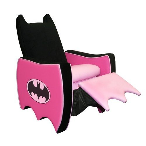laughingsquid:  A Pink Bat-Recliner  I want this kind of chair!