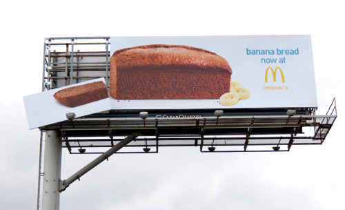 """Banana bread now at McDonald's"""