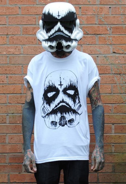 Death Trooper by A.O.N.O X Abandon Ship Apparel £19.99  http://aono.bigcartel.com/product/death-trooper-aono-x-asa-collab-may-the-fourth-tee