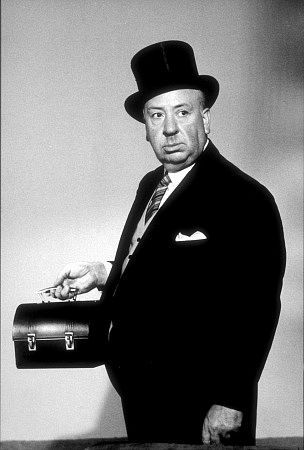 Pictured above: Sir Alfred Hitchcock, successfully impersonating a doctor with the help of Health.com.