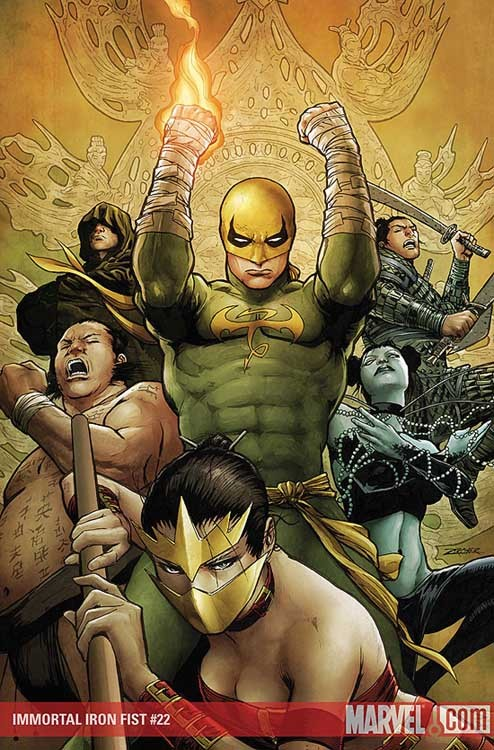 artverso:  Patrick Zicker - Iron Fist