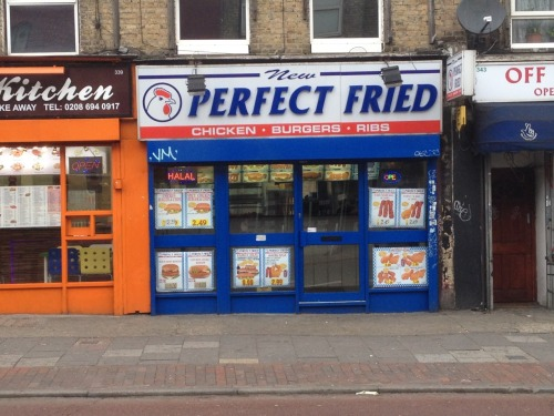 New Perfect Fried. New Cross Road, New Cross.