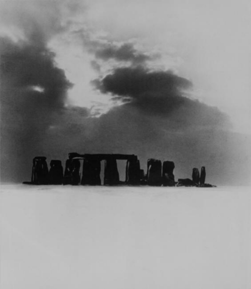 Stonehenge Under Snow, 1947 by Bill Brandt