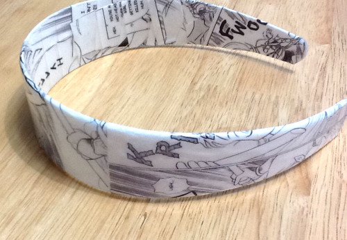 Here is a custom order headband that I did recently.  It features the manga InuYasha :)   I also make photo jewelry and accessories as well. Just check out the listings on the custom order section :) Want a similar headband like the one above? Here is the listing for the custom order headband :D http://www.etsy.com/listing/95032704/custom-order-headband-character-or-photo