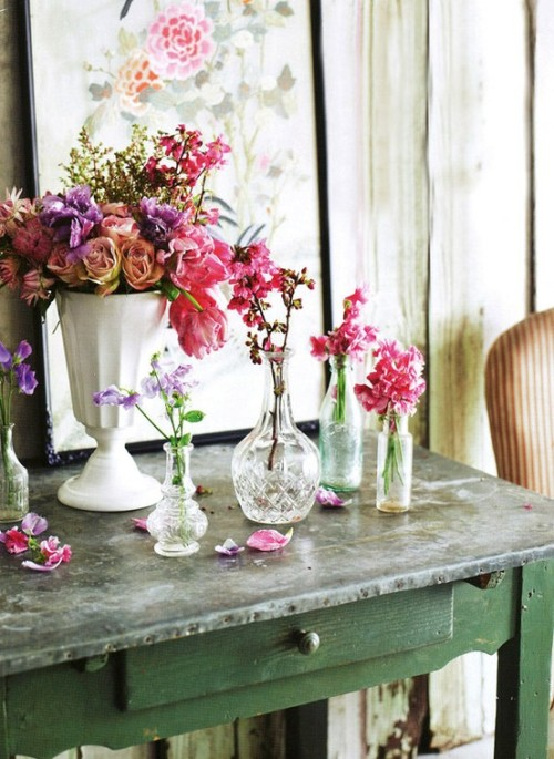 shabby chic arrangement
