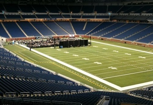 Empty Romney rallies