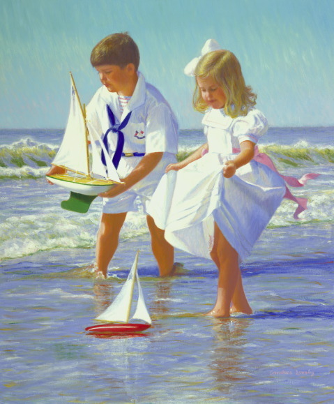 """Joe and Sarah Sailing"" by Candace Lovely"
