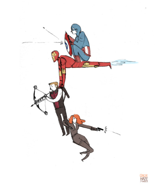 gingerhaze:  Iron Man We All Need A Lift
