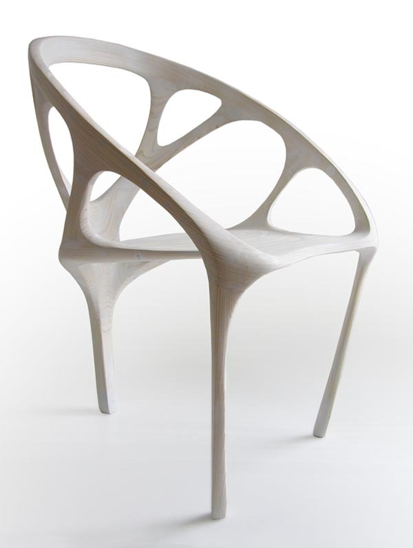 explosionspace:  Brazil White Chair by Daniel Widrig