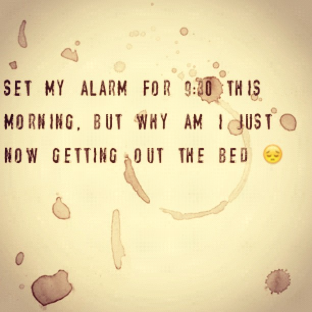 *yawns* #tweegram  (Taken with instagram)